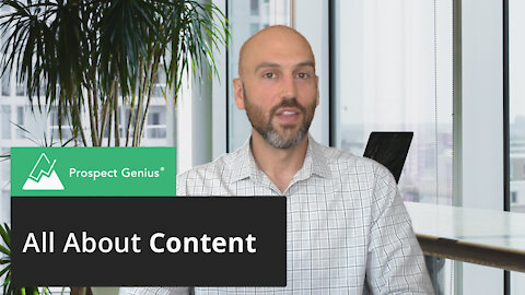 All About Content | Prospect Genius