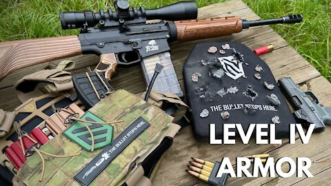 Level IV PE+Ceramic Armor Torture Test!