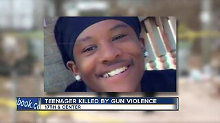 Family and friends held a vigil for a 15-year-old who died from a fatal gunshot wound on Friday