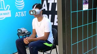 Simulator shows the dangers of distracted driving