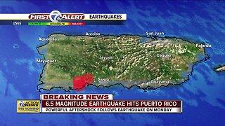 6.5 magnitude earthquake hits Puerto RIco