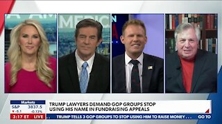 Trump Lawyers Demand GOP Groups Stop Using His Name in Fundraising Appeals