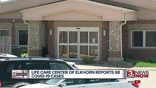 Life Care Center of Omaha reports 68 coronavirus cases