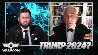 Roger Stone On Whether Trump Will Run On 2024