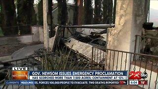 Saddleridge fire scorches more than 7,500 acres
