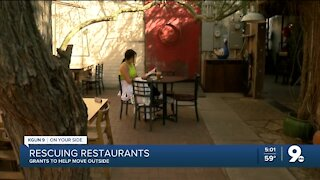Grants to help restaurants ride out COVID