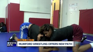 Mumford wrestling program gives students new perspective