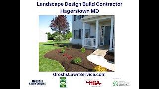 Landscape Design Build Hagerstown MD Contractor GroshsLawnService.com