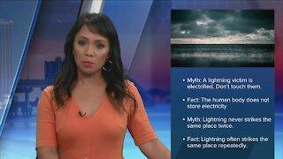 Lightning safety myths