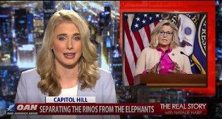 The Real Story - OANN Liz Cheney Denounces Trump