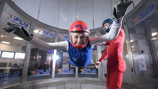 Adrenaline Wheelchair-Bound Gran With Multiple Sclerosis Skydives Once A Week – And Loves Hang Gliding And Zipwires Too