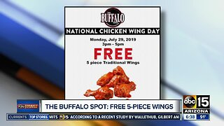 Deals for National Chicken Wing Day
