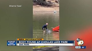Body found floating in Chollas Lake