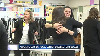 Female inmates dress for success