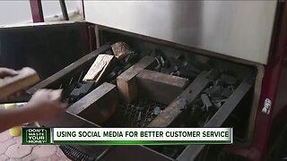 Using social media for better customer service