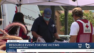 Resource event held for Valley Fire victims