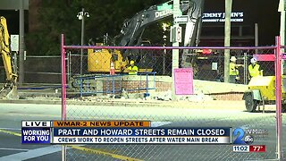 Downtown traffic mess continues into Wednesday morning commute