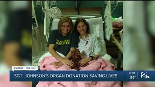 Organ donations from Sgt. Craig Johnson to save countless lives