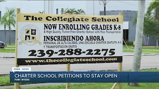 Collegiate Charter School petitioning to stay open