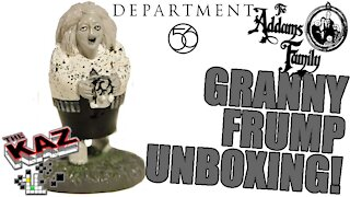 Department 56 Addams Family Granny Frump Unboxing