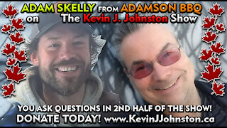 ADAM SKELLY from ADAMSON BBQ and Kevin J. Johnston LIVE TONIGHT
