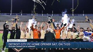 Detroit City FC prepares for home opener