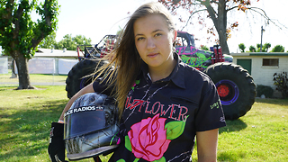 America's Youngest Pro Female Monster Truck Driver