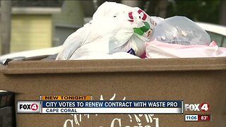 Cape Coral votes to negotiate extending Waste Pro's contract