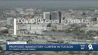 Tucson Mayor Romero proposes mandatory 8 p.m. curfew