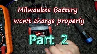 068 - Late night Milwaukee Battery Repair part 2