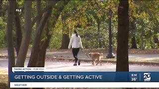 Getting moving outdoors this spring