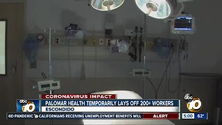 Palomar Health temporarily lays off 200+ workers