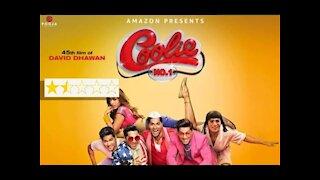 Coolie No.1 Review-Punjabi | Varun Dhawan | Sara Ali Khan | Just Binge Review