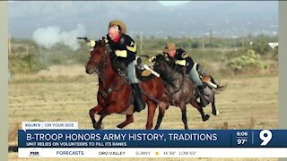 Fort Huachuca B Troop honors decades of traditions and history