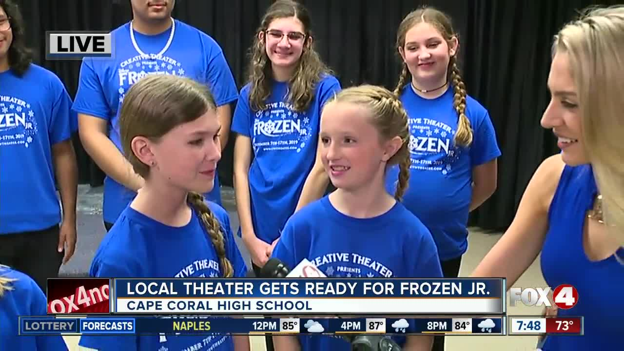 Local theater gets ready for Frozen Jr.