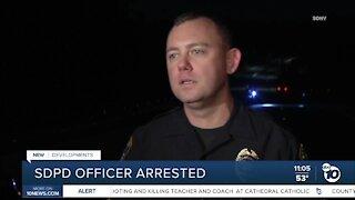 San Diego Police officer arrested on stalking, harassment charges