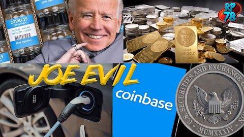 SEC Suing Coinbase, EV's To Boost Silver, Joe Evil