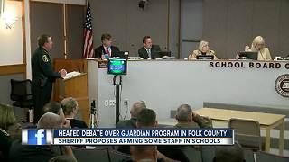 Heated debate over guardian program in Polk County