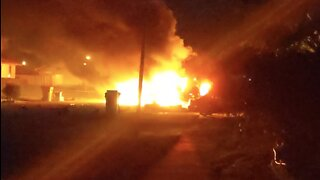 Car engulfed in flames in Royal Palm Beach, cause under investigation