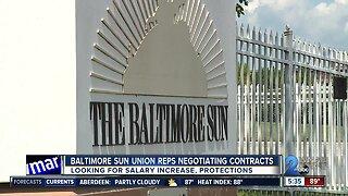 Baltimore Sun Union reps negotiating contracts
