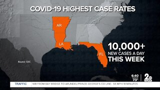 COVID cases are surging nationwide
