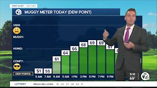 Metro Detroit Forecast: Storms, heat, and humidity return