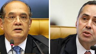 Barroso e Gilmar trocam ofensas no Supremo