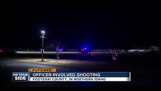 Officer shot, suspect dead after northern Idaho standoff