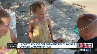 La Vista Police Department relaunches officer card initiative