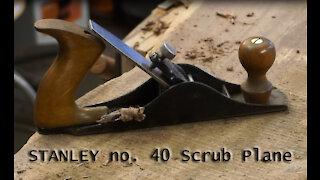 STANLEY No. 40 Scrub Plane