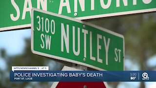 Police investigate infant's death in Port St. Lucie