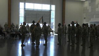 1st Squadron, 303rd Cavalry Regt. Change Of Command