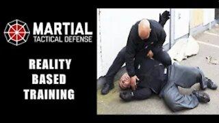 Reality based self defense training