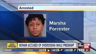 Pregnant woman arrested for overdosing with 2 kids in hot car